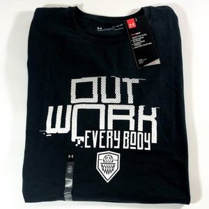 New Men's Under Armour Outwork Everybody Shirt  XL